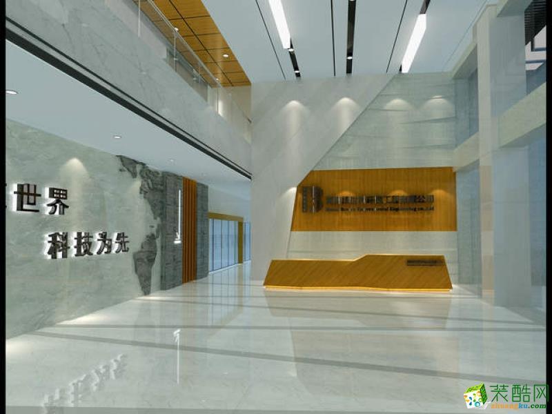 长沙�N远装饰-办公室装修效果图