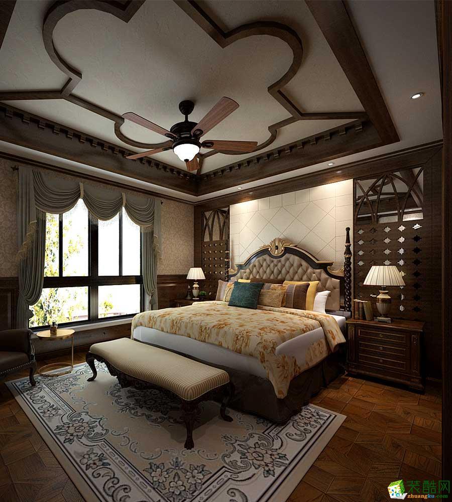 米兰大宅―350�O美式风格别墅案例
