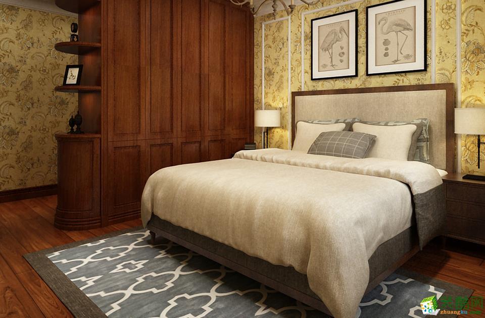 西安好百年装饰-美式两居室装修效果图