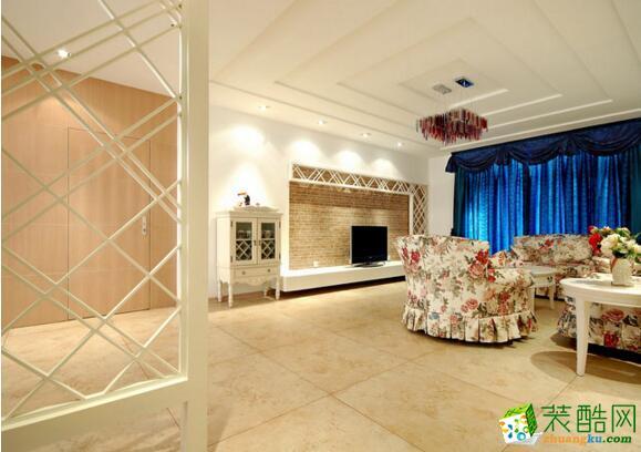 【隆诚装饰】水岸汇景 新古典风格四居室装修案例