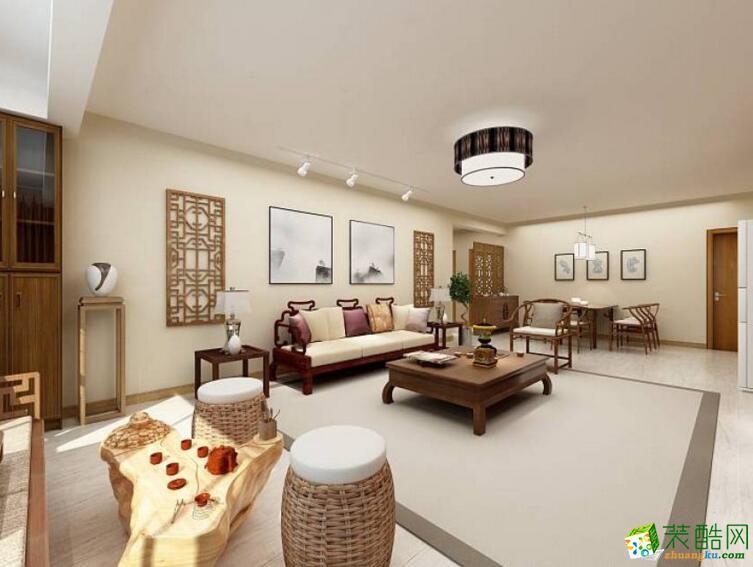 【深行装饰】142平米四居室装修案例图