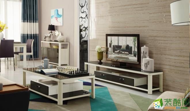三房两厅大居室现代客厅装饰效果图