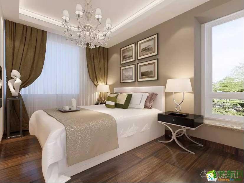西安苹果装饰-现代两居室装修效果图