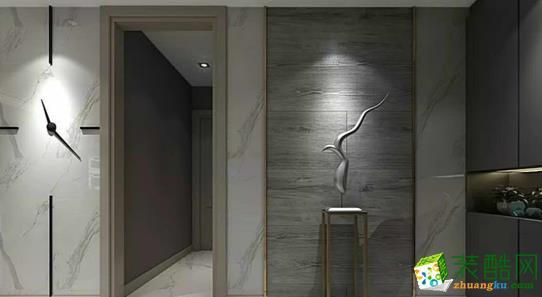 西安紫珊瑚装饰-现代两居室装修效果图
