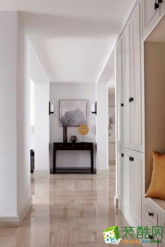 【乐居华庭装饰】美式简约风格99平米,全包13.8万元