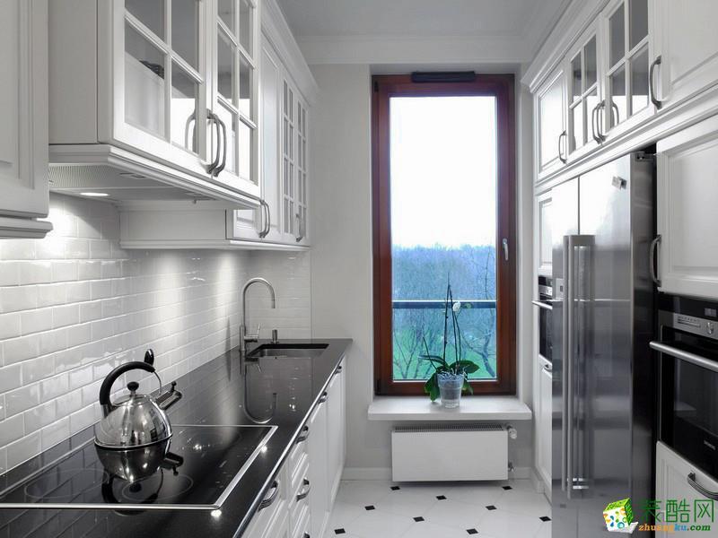 西安峰淘装饰-美式乡村两居室装修效果图