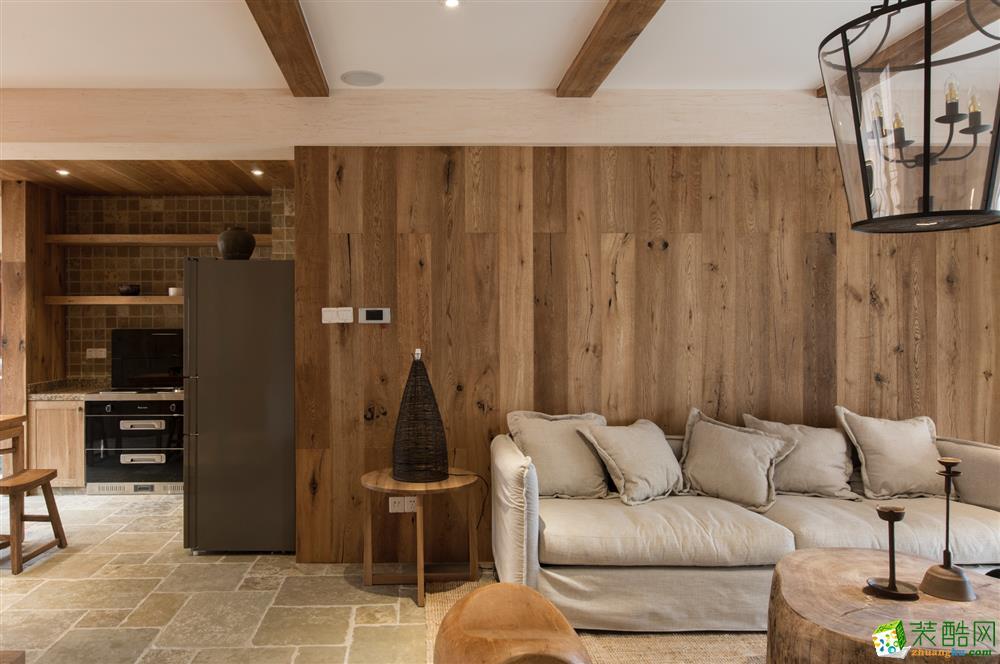 吉筑装饰——日式木风_日式风格-两室两厅一卫