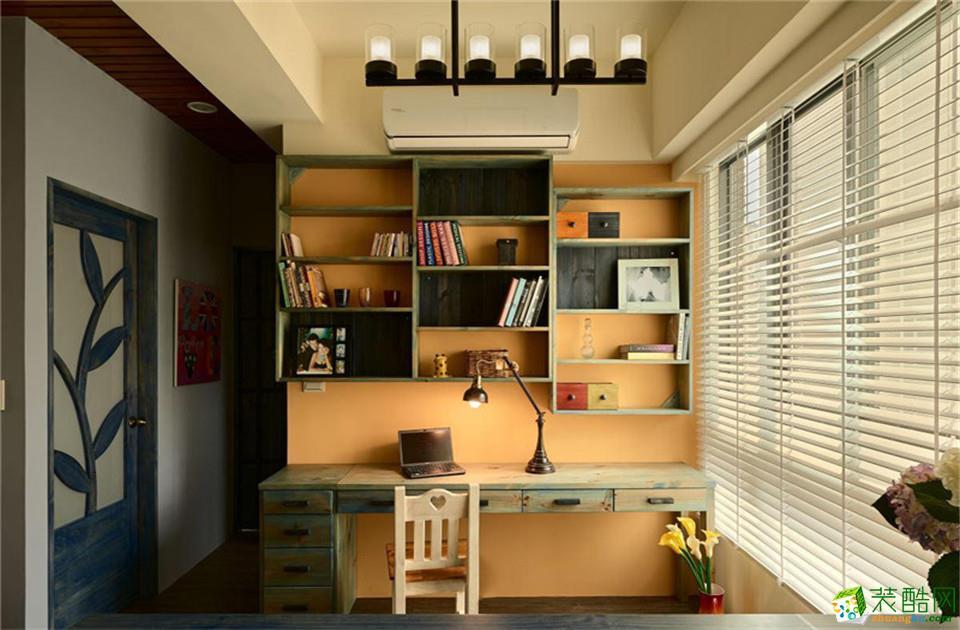 西安艺彩空间装饰-田园两居室装修效果图