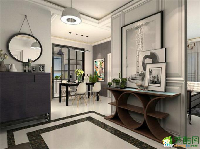 【居之家装饰】混搭风格 三居室装修案例图