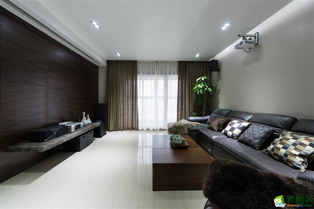 【成都生活家装饰】现代风格_现代风格-三室两厅两卫