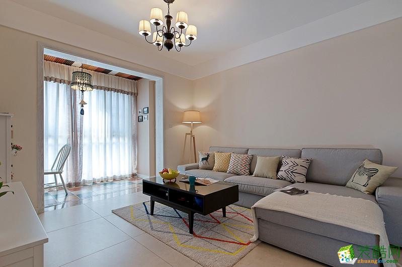 西安甲壳虫装饰-现代三居室装修效果图
