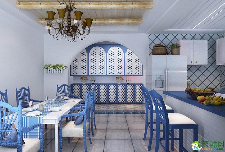 西安居泰隆装饰-地中海两居室装修效果图