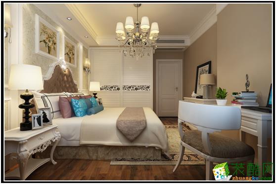 长沙荣欣装饰-美式乡村两居室装修效果图