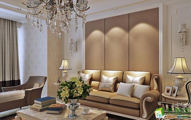 长沙天地和装饰-现代简约四居室装修效果图