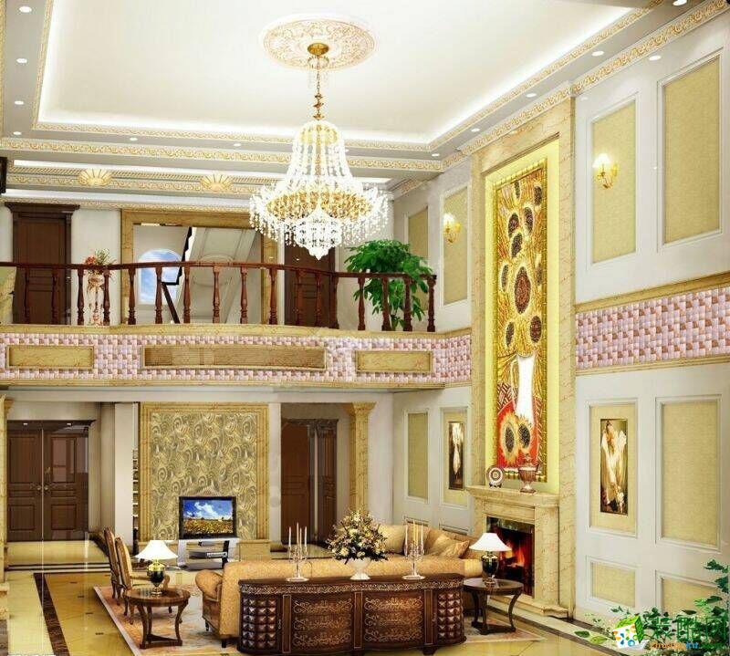 云南卓興建筑裝飾客廳裝修效果圖