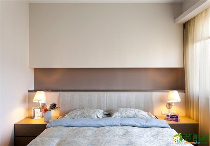 长沙名匠装饰-现代简约三居室装修效果图