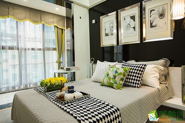 长沙鸿扬家装-现代简约三居室装修效果图
