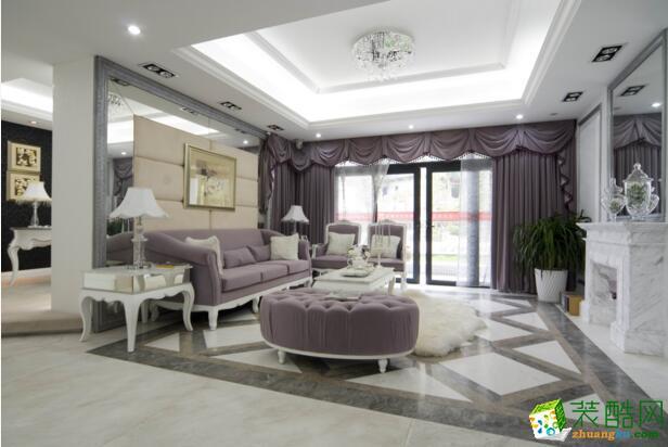 【居之家装饰】简欧风格130平米四居室装修案例图