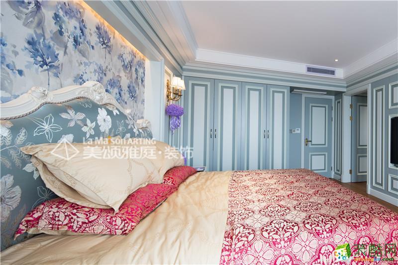 卧室  美颂雅庭―复地东湖国际200平米欧式风格
