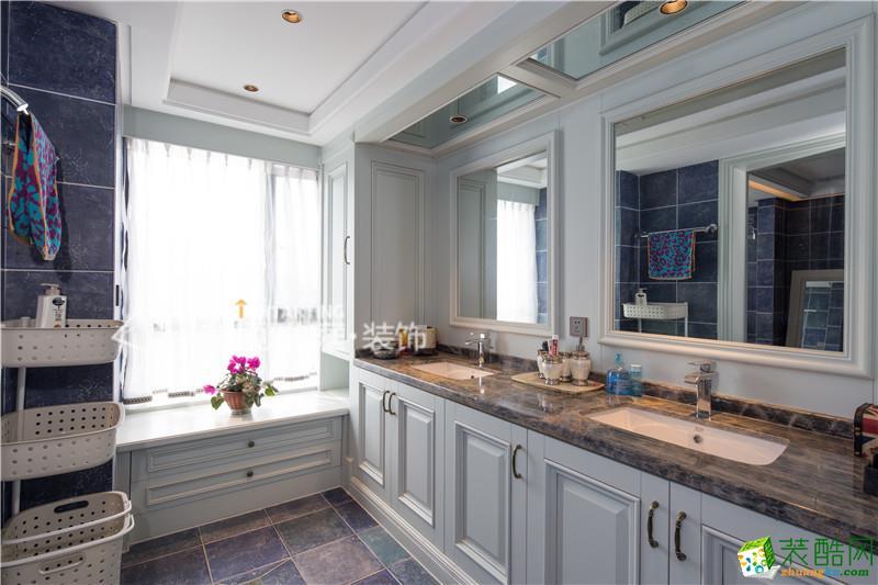 厨房  美颂雅庭―复地东湖国际200平米欧式风格