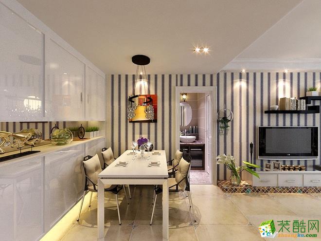 西安郡茂装饰-混搭两居室装修效果图
