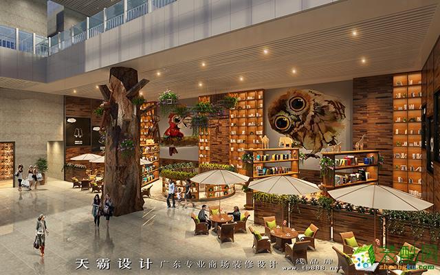 休闲区 天霸设计商场装修设计效果图有哪些重要设计