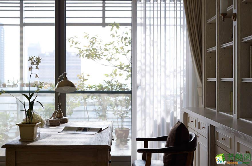 西安创庭装饰-美式两居室装修效果图