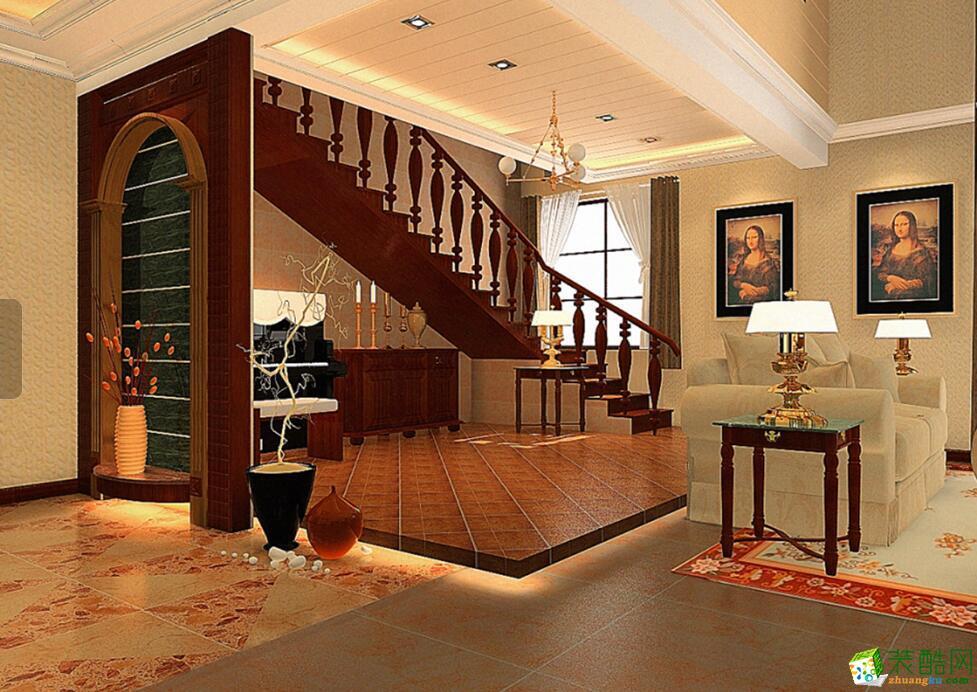今泰装饰―楚世家300平米别墅中式风格