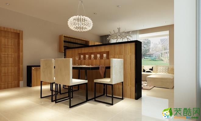 长沙点筑装饰-现代简约两居室装修效果图