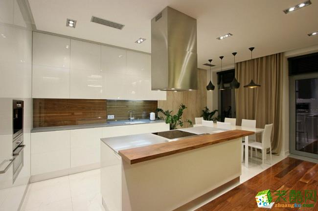 长沙荣欣装饰-现代简约两居室装修效果图