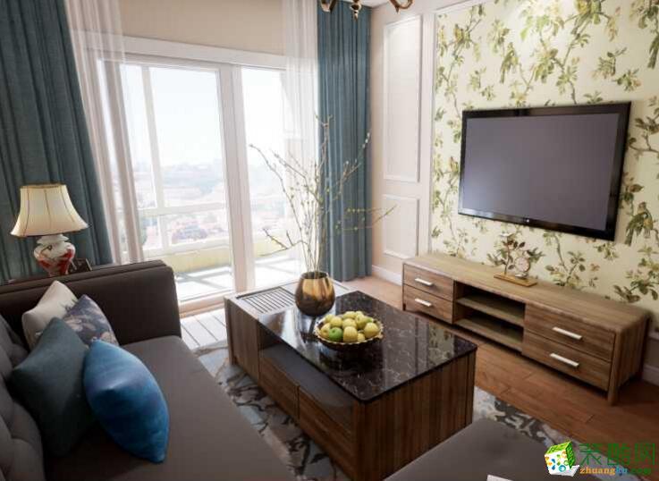【绿源空间装饰】模式两居室装修案例