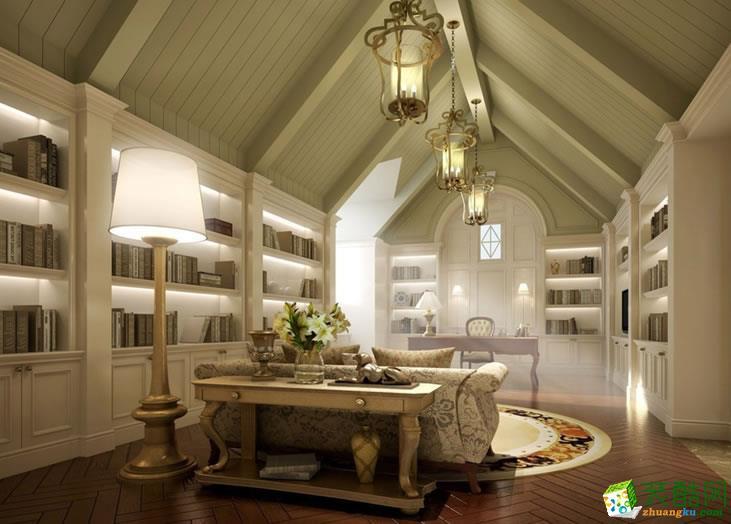 长沙美迪装饰-简欧两居室装修效果图