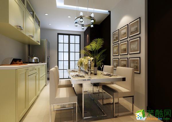 长沙实创家居装饰-新中式两居室装修效果图