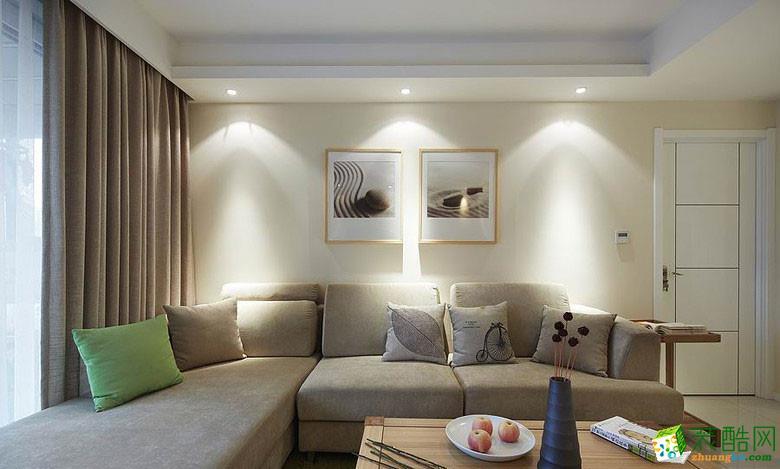 西安天地亿家装饰-现代简约三居室装修效果图