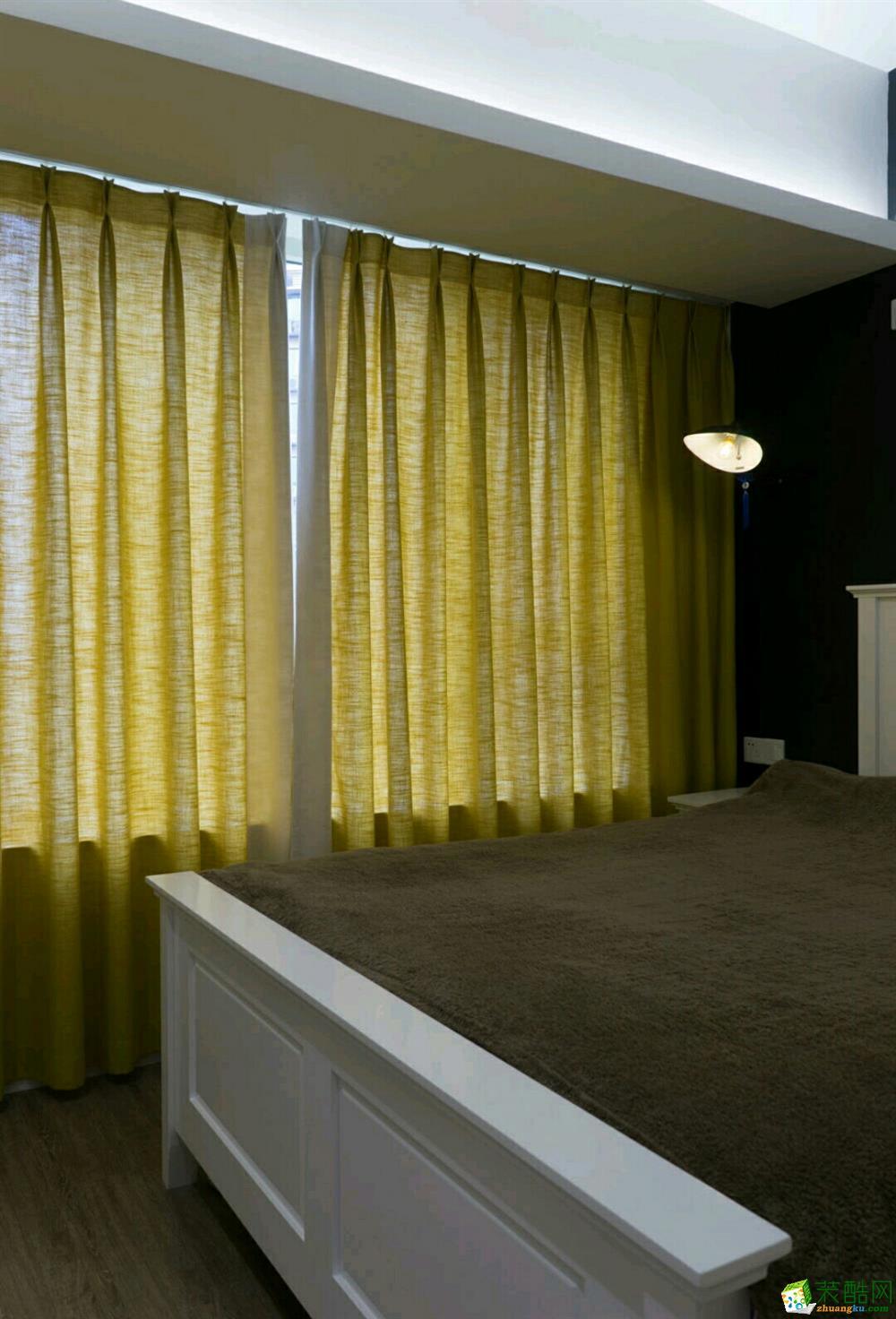 西安一品鼎盛装饰-中建开元城欧式两居室装修效果图