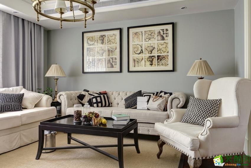 西安紫珊瑚装饰-现代三居室装修效果图