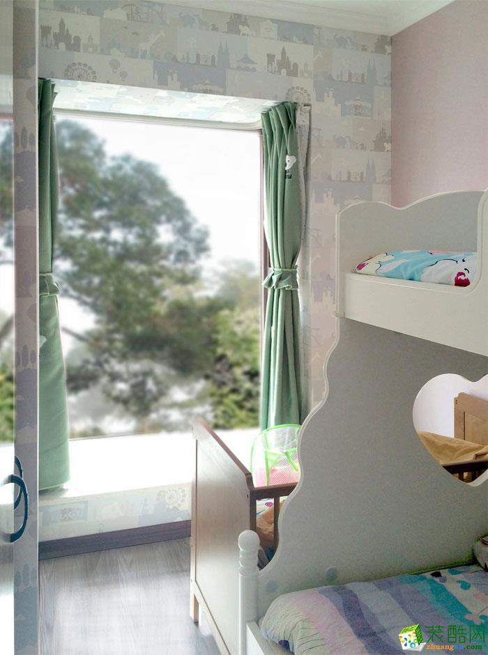 长沙苹果装饰-现代简约两居室装修效果图