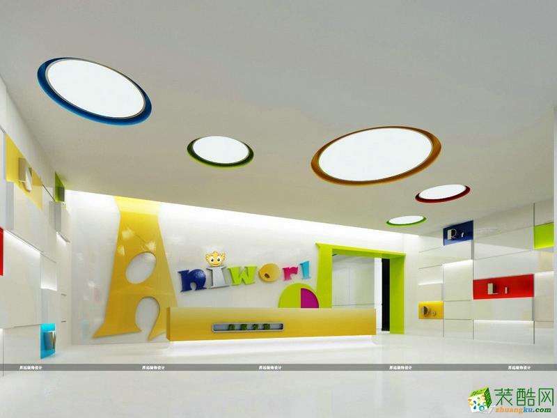长沙�N远装饰-湖南金鹰卡通办公室装修效果图