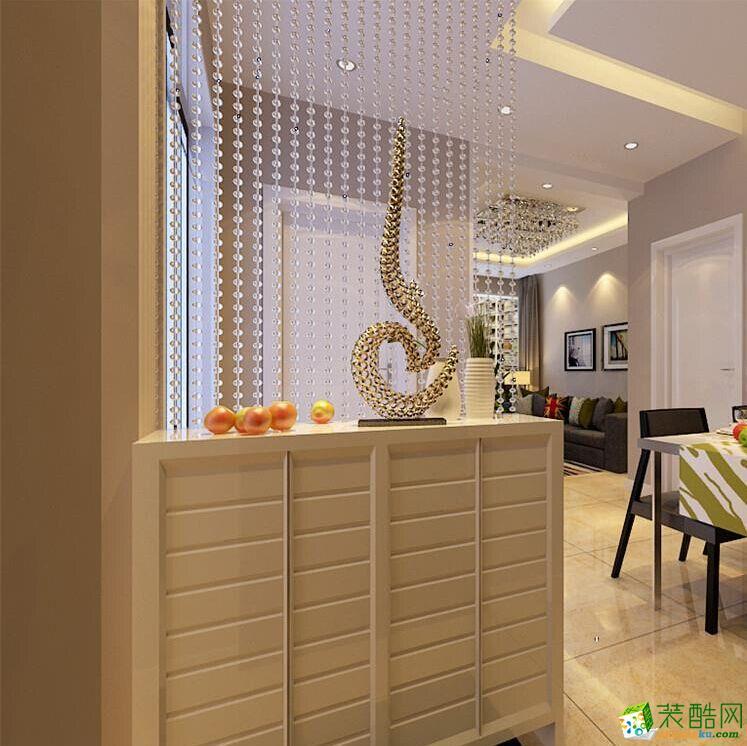 西安墨响睿思装饰-现代简约两居室装修效果图