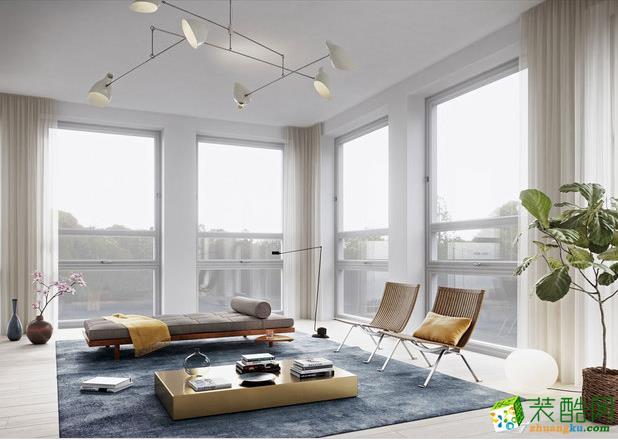 西安东宫装饰-混搭三居室装修效果图