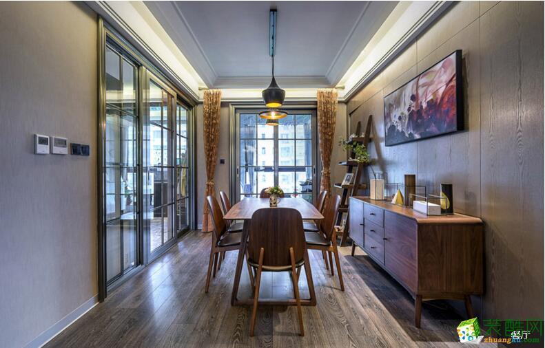 欧居尚装饰---现代风格198平米四居室装修案例图