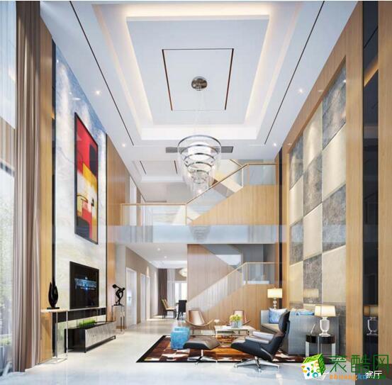 德雕装饰---300平米混搭风格别墅住宅装修案例图