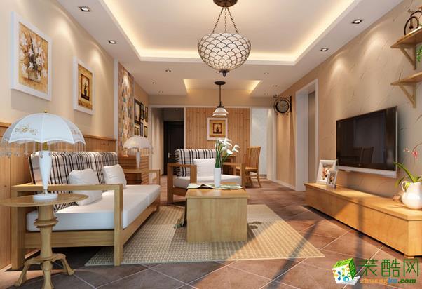 长沙树巢装饰-现代三居室装修效果图