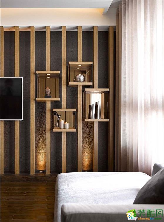 长沙树巢装饰-混搭两居室装修效果图