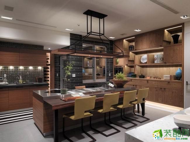 长沙树巢装饰-中式三居室装修效果图