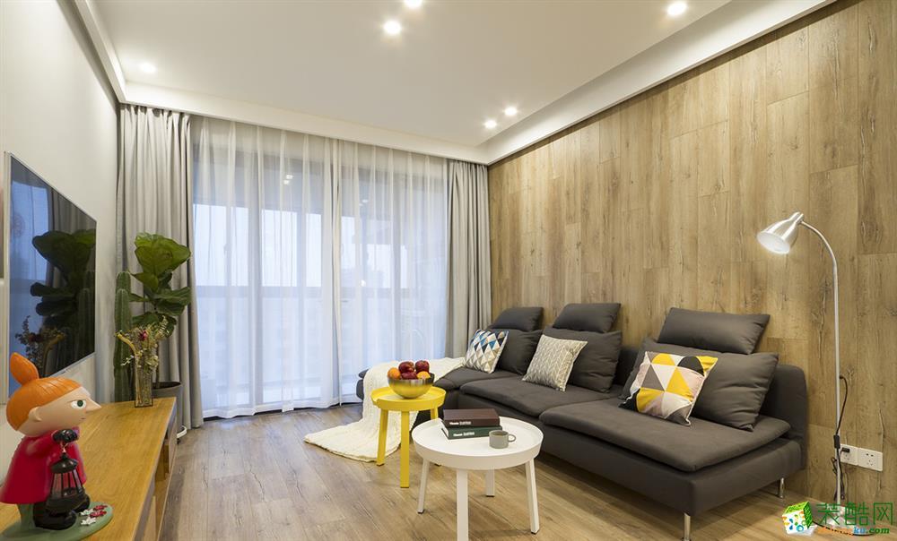 105平北欧二居室装修效果图