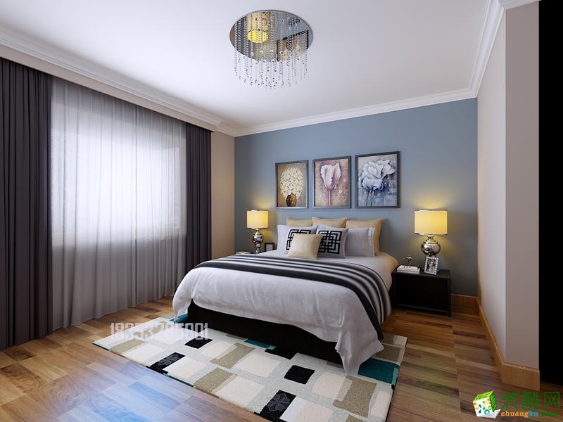 民建大厦127平三居室现代简约风格装修
