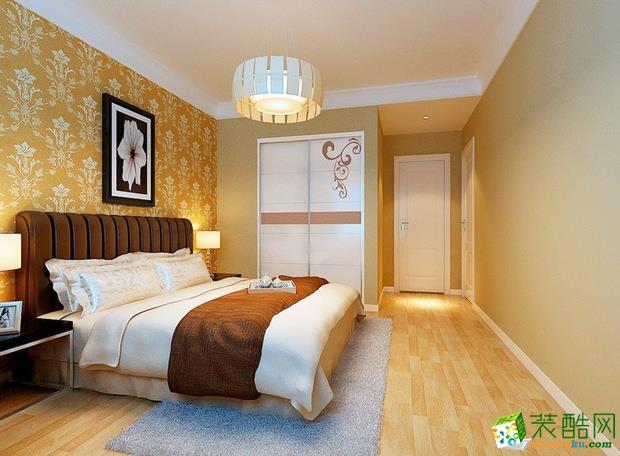 西安美颂雅庭装饰-现代简约两居室装修效果图