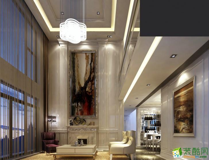 长沙三汇装饰-星湖湾现代复式楼装修效果图