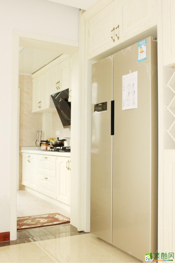 长沙三汇装饰-北辰三角洲简欧三居室装修效果图